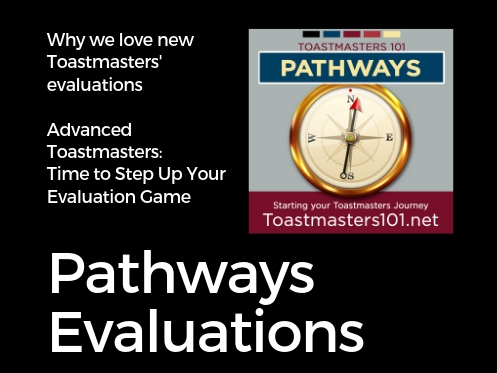 Pathways Evaluation Toastmasters101