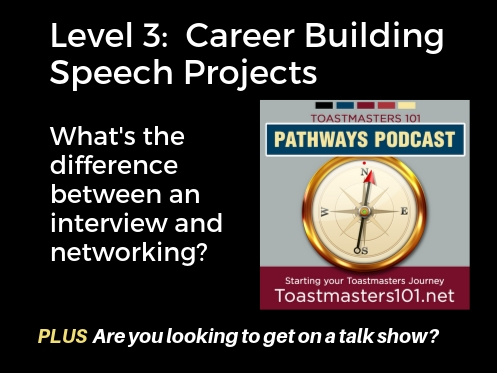 Career Building Speech Projects Level 3