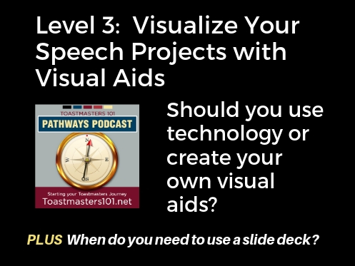 Visual Aids for Your Speech Presentation: Level 3 Electives