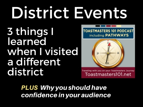 Toastmasters District Events Outside Your District