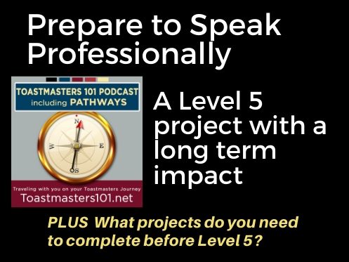 Prepare to Speak Professionally: Level 5 Elective