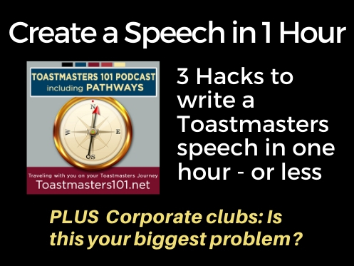How to Create a Speech in One Hour