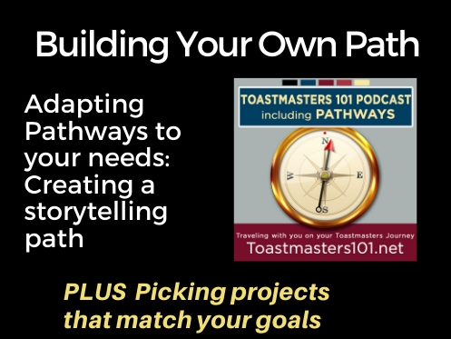 Adapting Pathways to Storytelling focus Toastmasters101