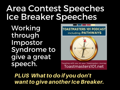 Contest Speeches and Ice Breakers