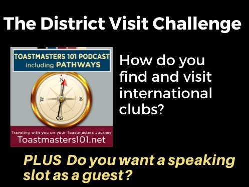 Visit Other Toastmasters Clubs Today