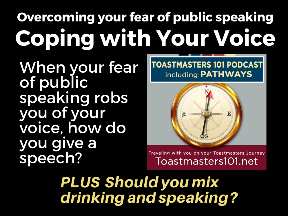 Overcome Your Fear of Public Speaking: Your Voice