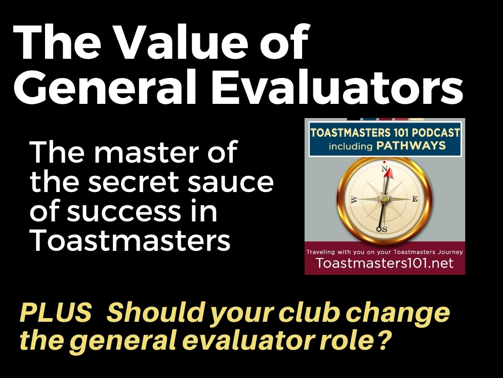 The General Evaluator Creates Great Meetings