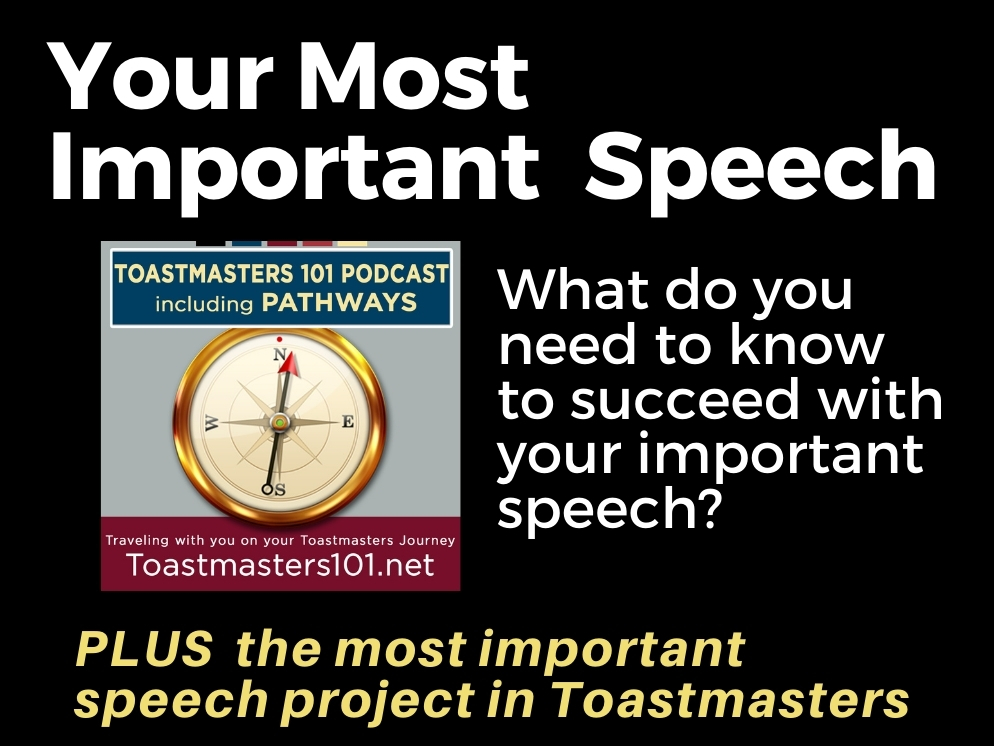 The Most Important Speech You Have to Give