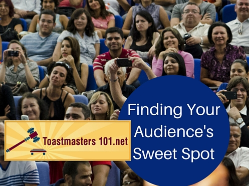 Find Your Audience:  The Sweet Spot