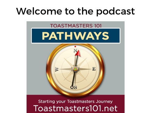 Welcome to Toastmasters Pathways