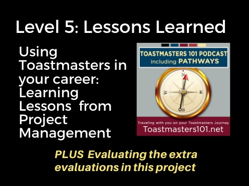 Level 5: Lessons Learned Elective Project