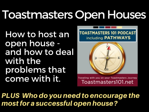 Toastmasters Open Houses to Recruit New Members