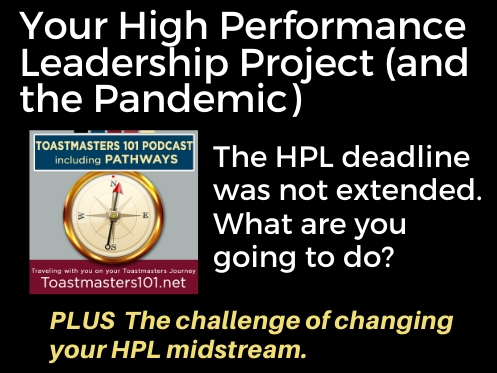 Your High Performance Leadership Project in a Pandemic