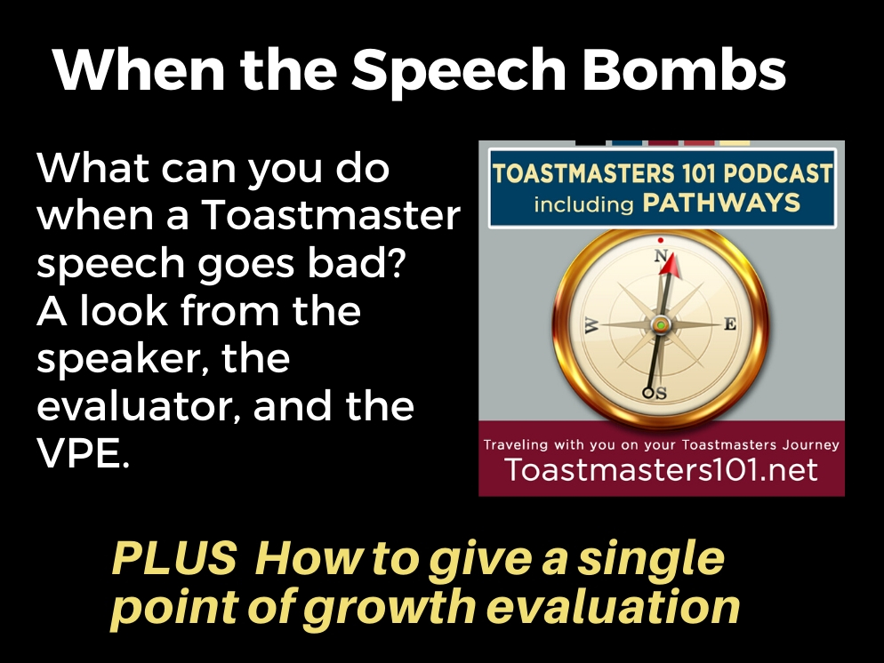 Toastmasters Speech Project FAIL