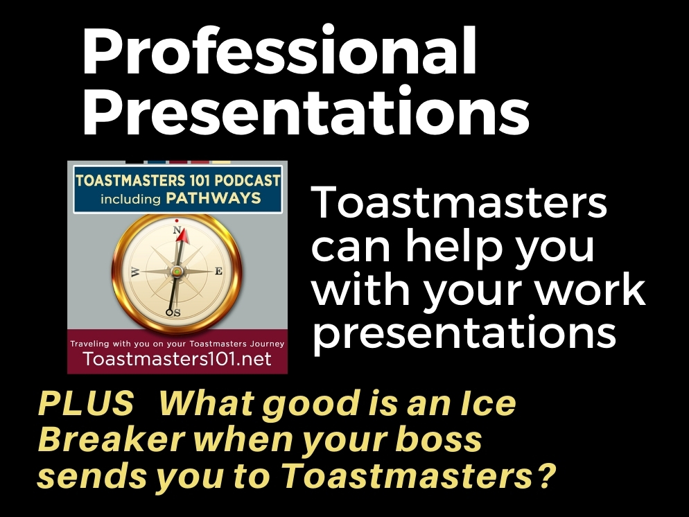 A Professional Presentation at Toastmasters?