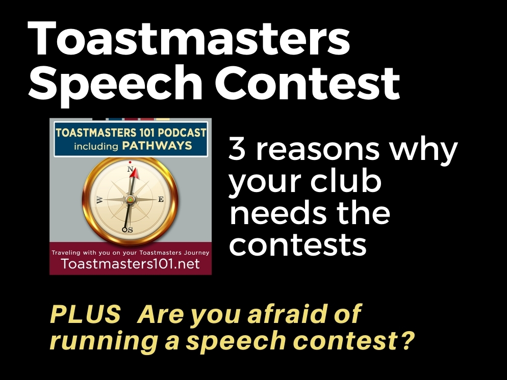Toastmasters Speech Contest: Are You In?